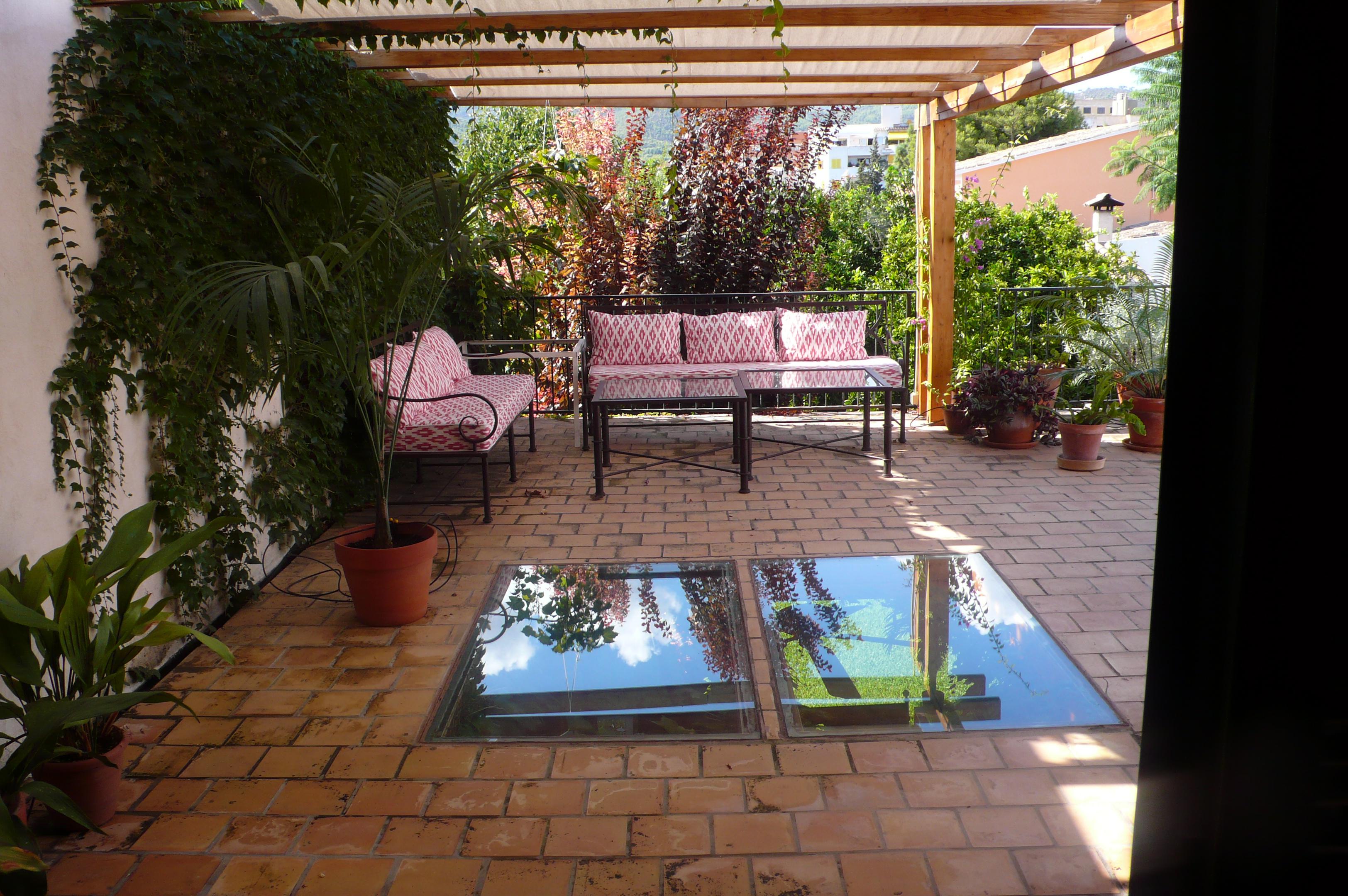 Encantador adosado con piscina y jardín en Palma